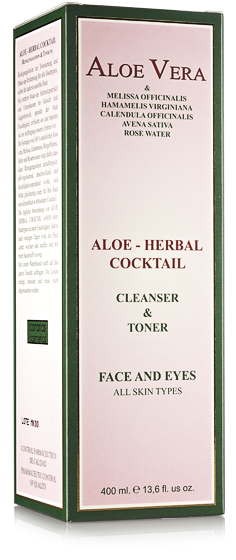 Caja Aloe Herbal Cocktail